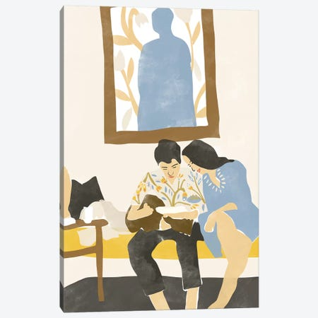 Musical Love Canvas Print #AHO23} by Alja Horvat Canvas Art Print