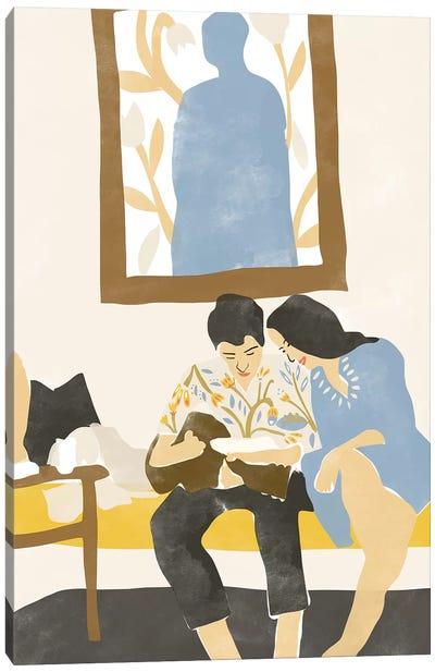 Musical Love Canvas Art Print