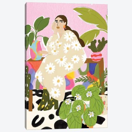 Plant Mom Canvas Print #AHO30} by Alja Horvat Canvas Art