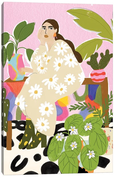 Plant Mom Canvas Art Print