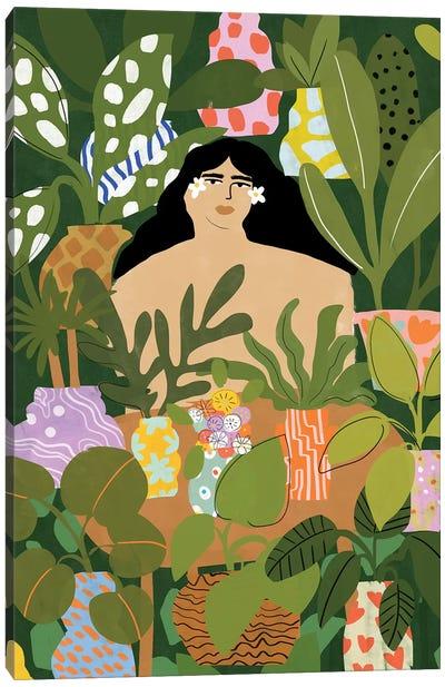 Room Full Of Plants Canvas Art Print