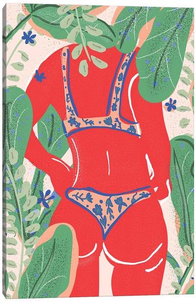 Summer Bikini Canvas Art Print