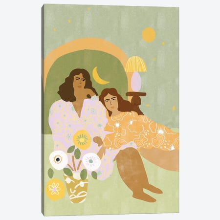 Violet Lamp Canvas Print #AHO40} by Alja Horvat Canvas Print