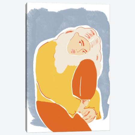 Blue Canvas Print #AHO4} by Alja Horvat Canvas Wall Art