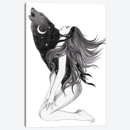 Shadow Canvas Print #AHR100} by Andrea Hrnjak Canvas Artwork