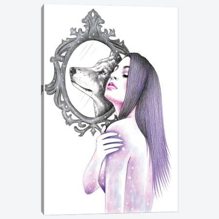 Mirroring Canvas Print #AHR103} by Andrea Hrnjak Canvas Artwork