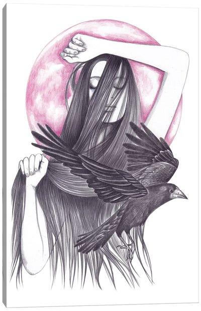 Crow Dance Canvas Art Print