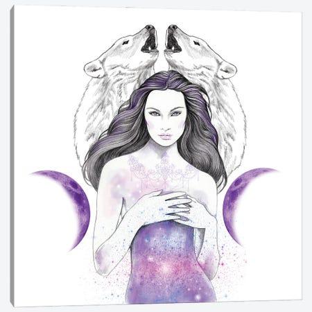 Star Light Canvas Print #AHR111} by Andrea Hrnjak Art Print