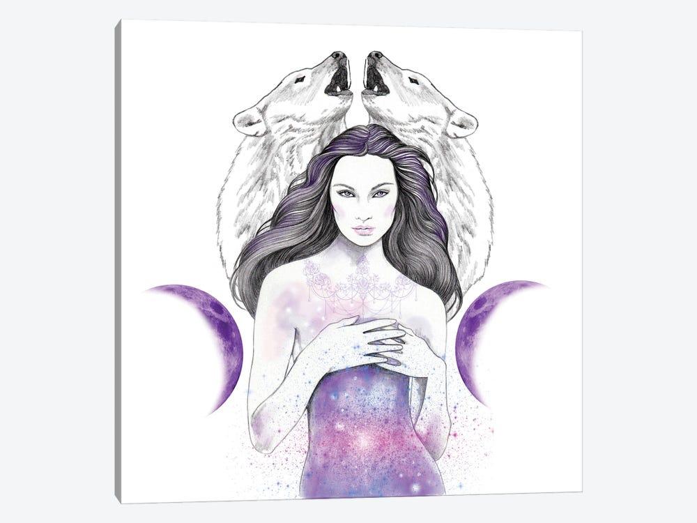Star Light by Andrea Hrnjak 1-piece Canvas Art Print
