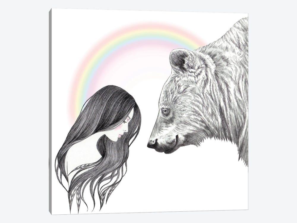 She Bear by Andrea Hrnjak 1-piece Canvas Artwork