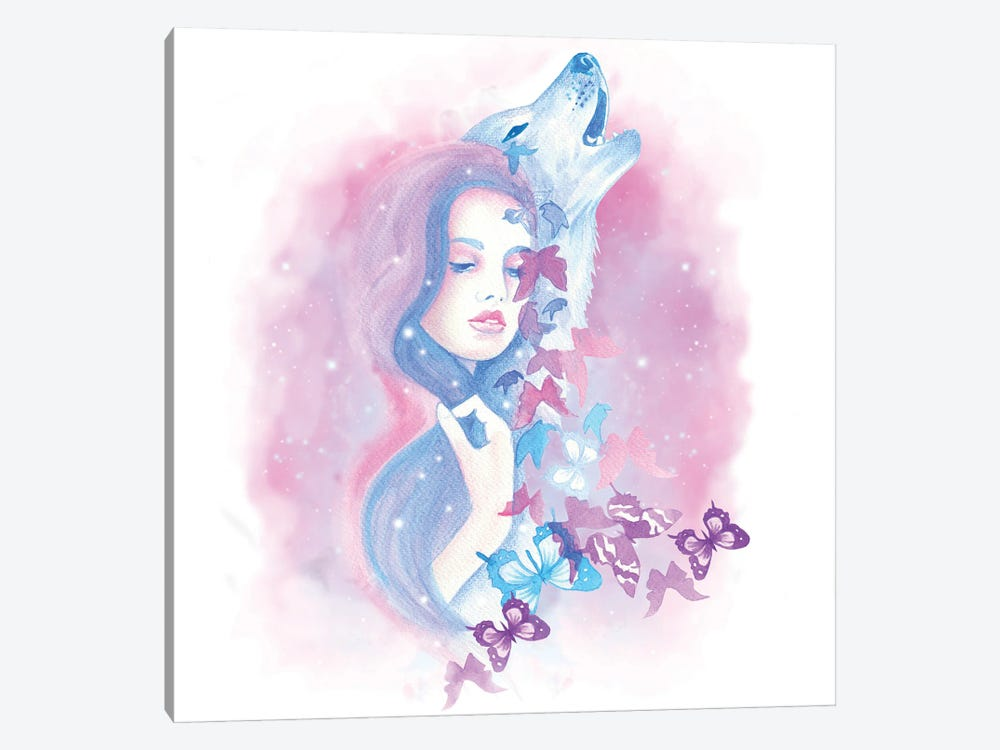 All The Stars by Andrea Hrnjak 1-piece Canvas Art Print