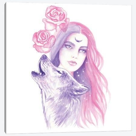 Wild Roses Canvas Print #AHR126} by Andrea Hrnjak Canvas Art Print