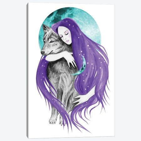 Midnight Dreamer Canvas Print #AHR127} by Andrea Hrnjak Art Print
