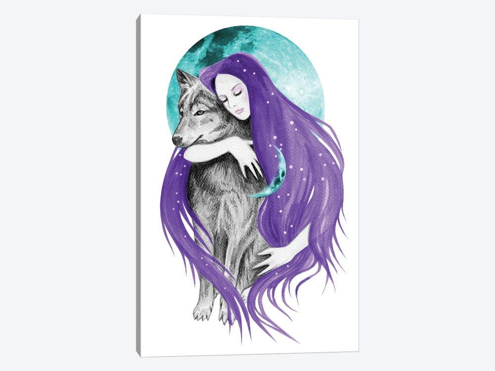 Midnight Dreamer by Andrea Hrnjak 1-piece Canvas Art