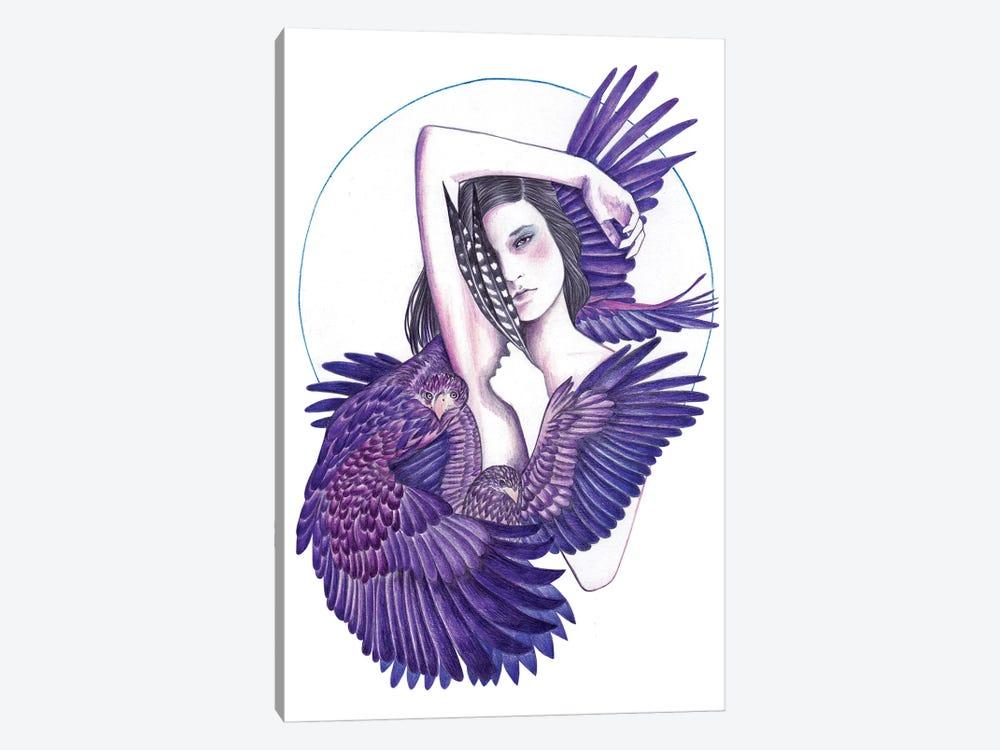 Eagle Woman by Andrea Hrnjak 1-piece Canvas Artwork