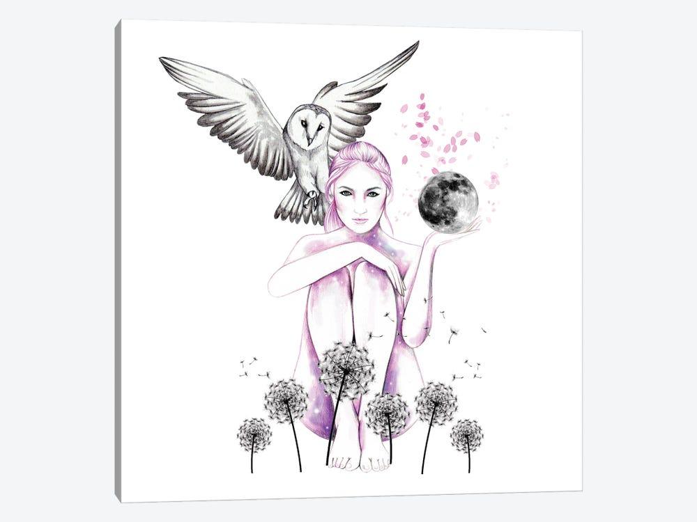 Dandelion Daze by Andrea Hrnjak 1-piece Canvas Wall Art