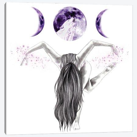 Midnight Dancer Canvas Print #AHR131} by Andrea Hrnjak Art Print