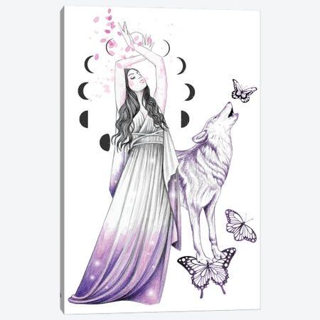 Moon Dance Canvas Print #AHR133} by Andrea Hrnjak Art Print
