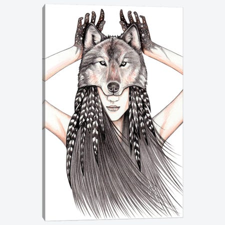 Feral Heart Canvas Print #AHR13} by Andrea Hrnjak Canvas Art Print
