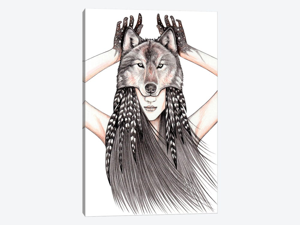 Feral Heart by Andrea Hrnjak 1-piece Art Print