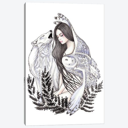 Forest Canvas Print #AHR14} by Andrea Hrnjak Canvas Art