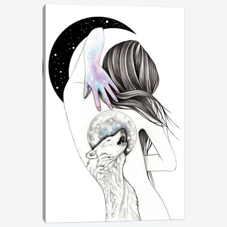 Moon Coven Canvas Print #AHR20} by Andrea Hrnjak Canvas Art