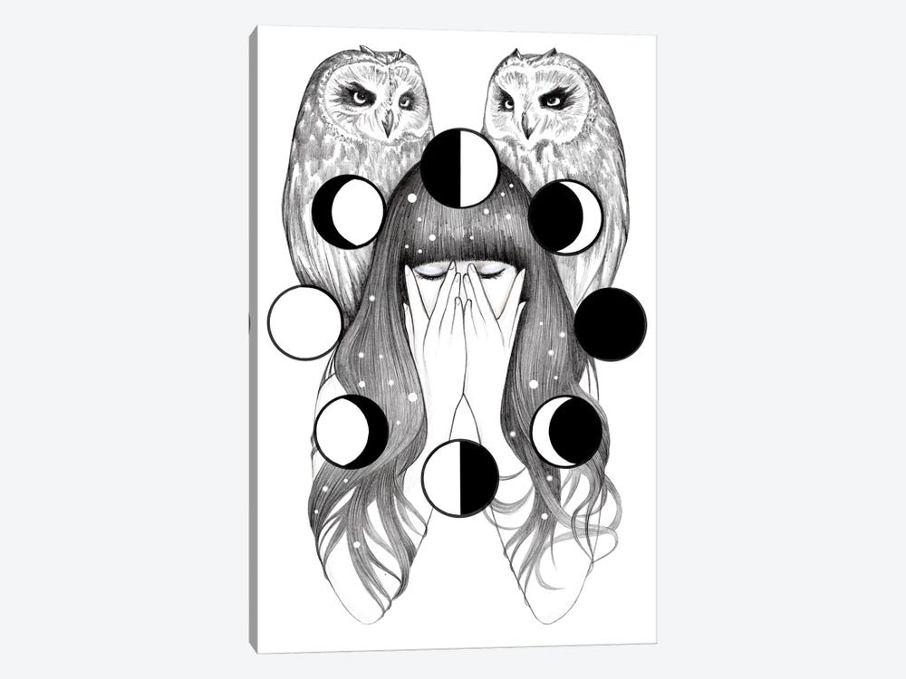 Moon Spells by Andrea Hrnjak 1-piece Canvas Artwork