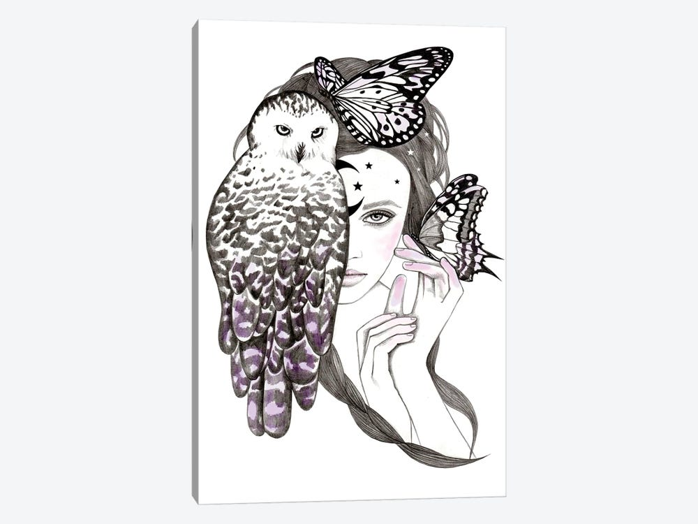 Night Owl by Andrea Hrnjak 1-piece Art Print