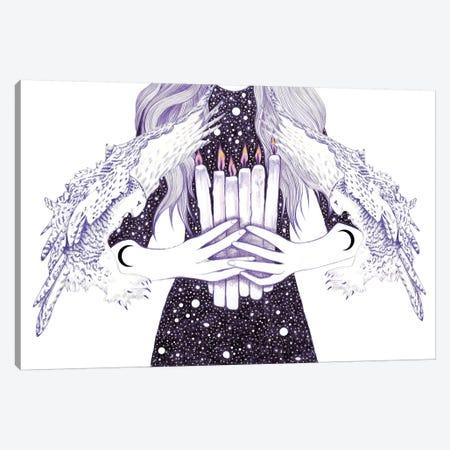 Nightwalker Canvas Print #AHR25} by Andrea Hrnjak Canvas Art Print