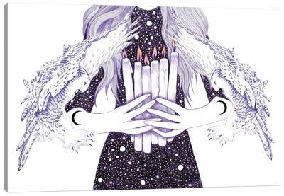 Nightwalker Canvas Art Print