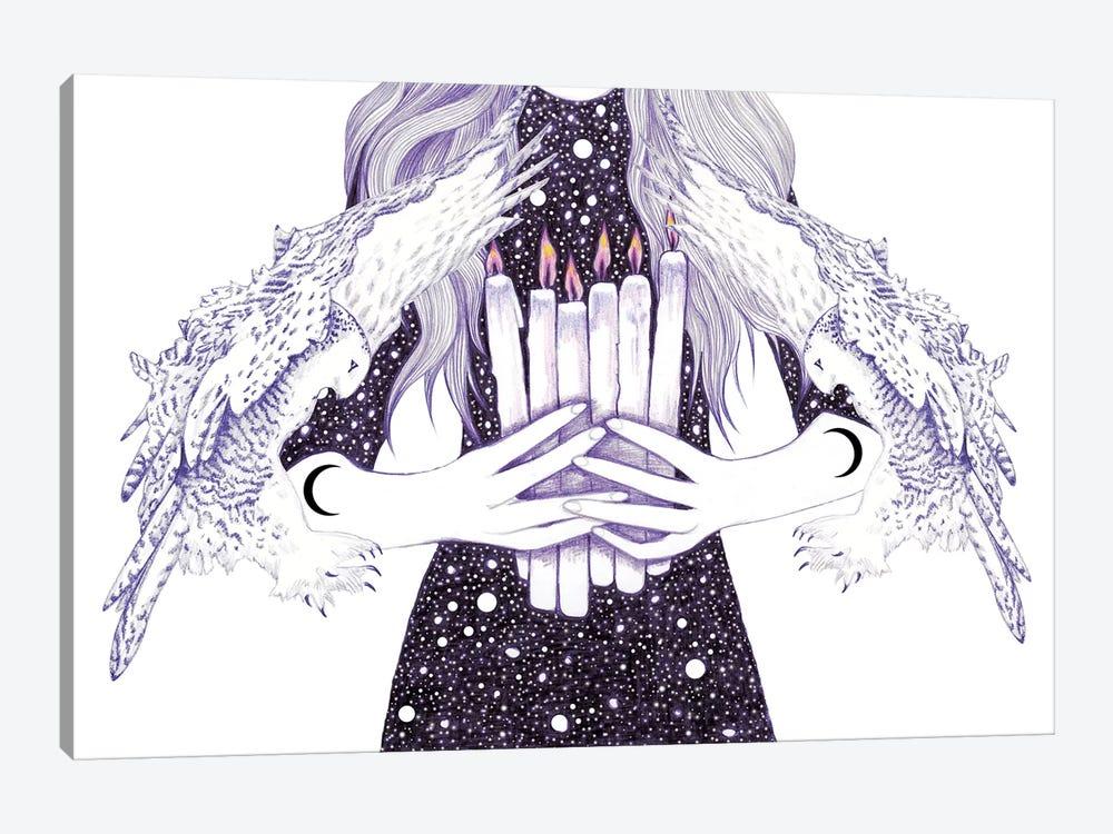 Nightwalker by Andrea Hrnjak 1-piece Canvas Wall Art