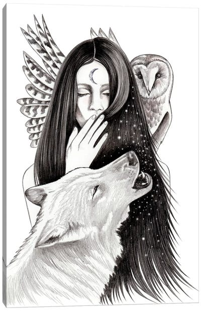 Ritual Canvas Art Print