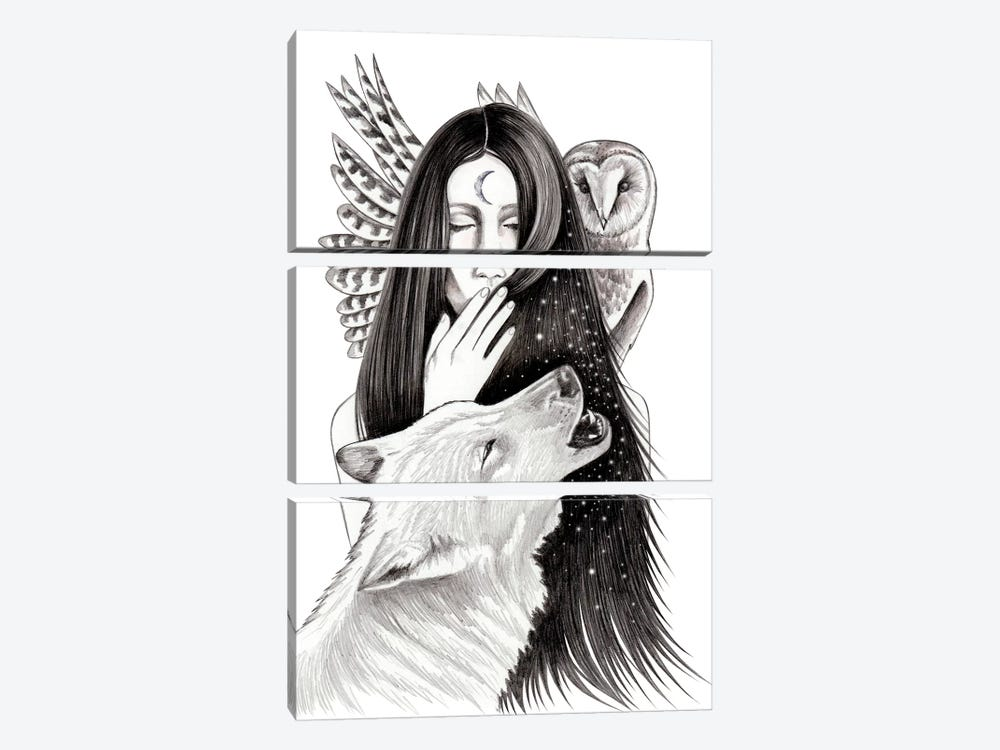 Ritual by Andrea Hrnjak 3-piece Canvas Wall Art