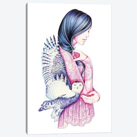 Secret Canvas Print #AHR33} by Andrea Hrnjak Art Print