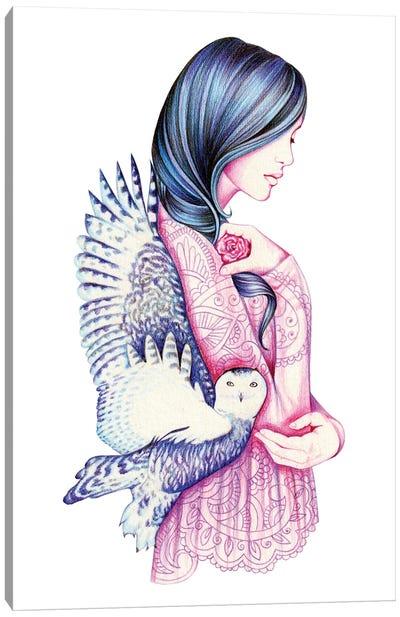 Secret Canvas Art Print