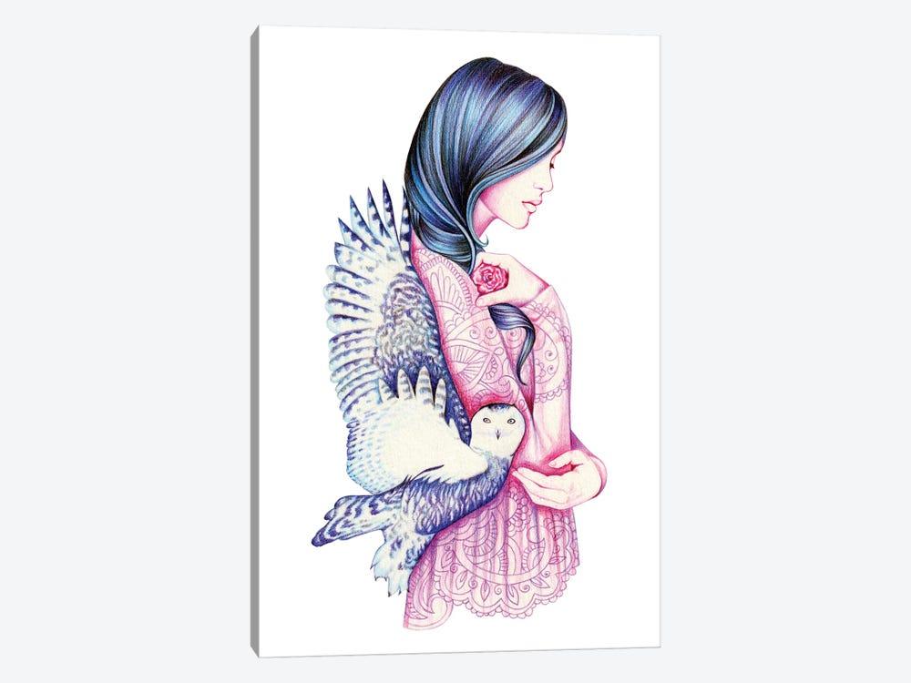 Secret by Andrea Hrnjak 1-piece Canvas Art Print