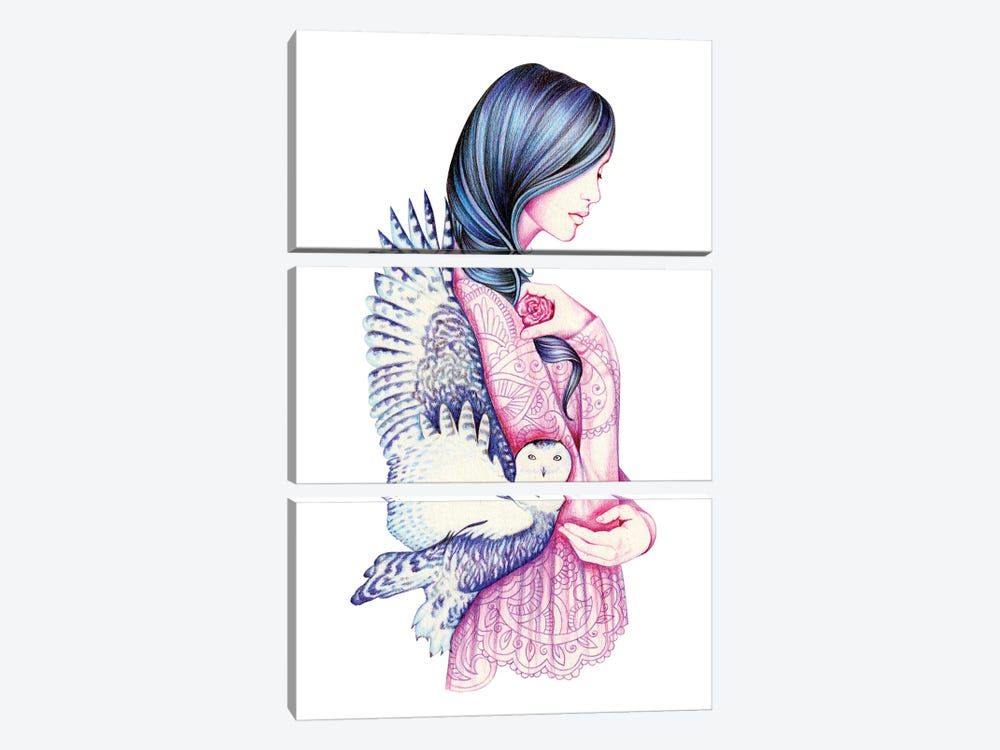 Secret by Andrea Hrnjak 3-piece Art Print