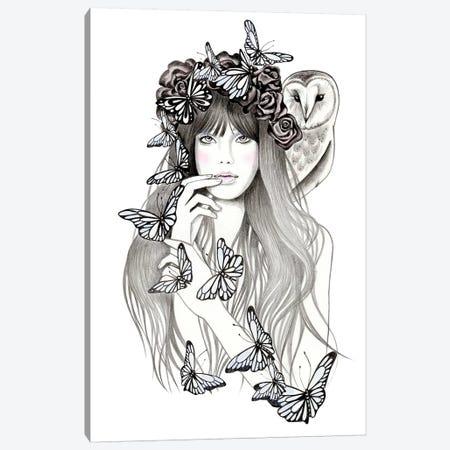 Silent Canvas Print #AHR36} by Andrea Hrnjak Canvas Art