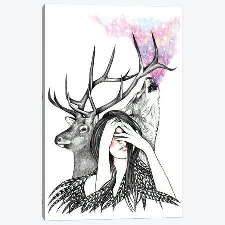 Starlight Canvas Print #AHR39} by Andrea Hrnjak Canvas Print