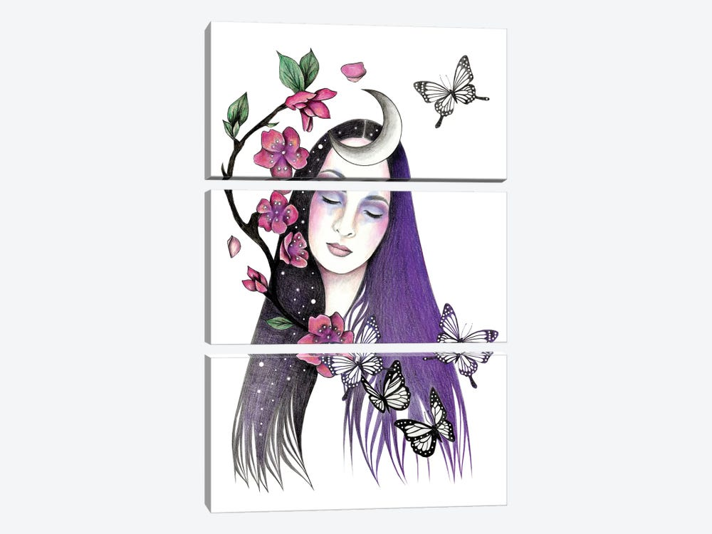 Blossom Time by Andrea Hrnjak 3-piece Art Print