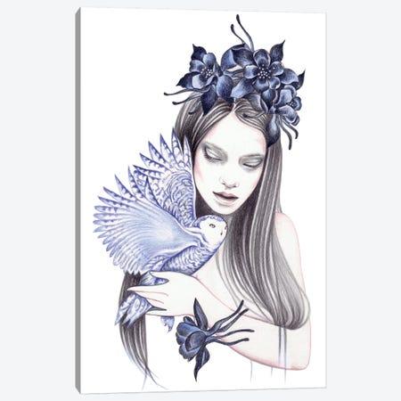 Wild Flower Canvas Print #AHR42} by Andrea Hrnjak Canvas Art