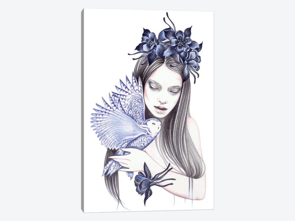Wild Flower by Andrea Hrnjak 1-piece Canvas Print