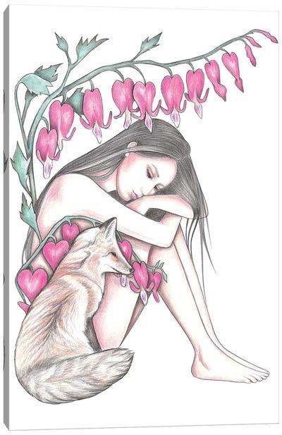 Bleeding Hearts Canvas Art Print
