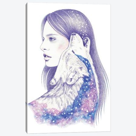 Cosmic Love II Canvas Print #AHR54} by Andrea Hrnjak Canvas Art