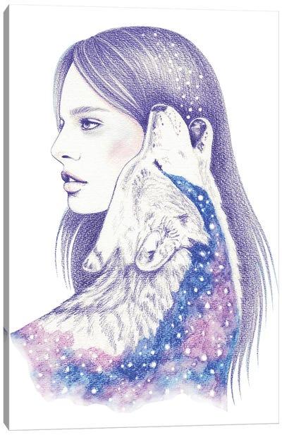 Cosmic Love II Canvas Art Print