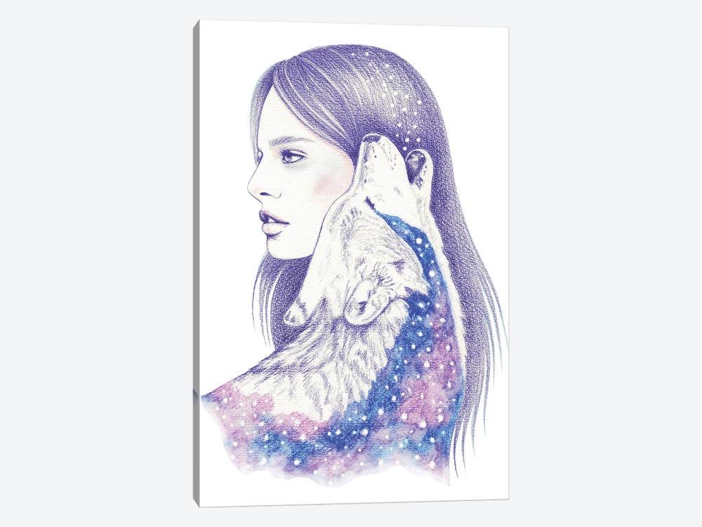 Cosmic Love II by Andrea Hrnjak 1-piece Canvas Art