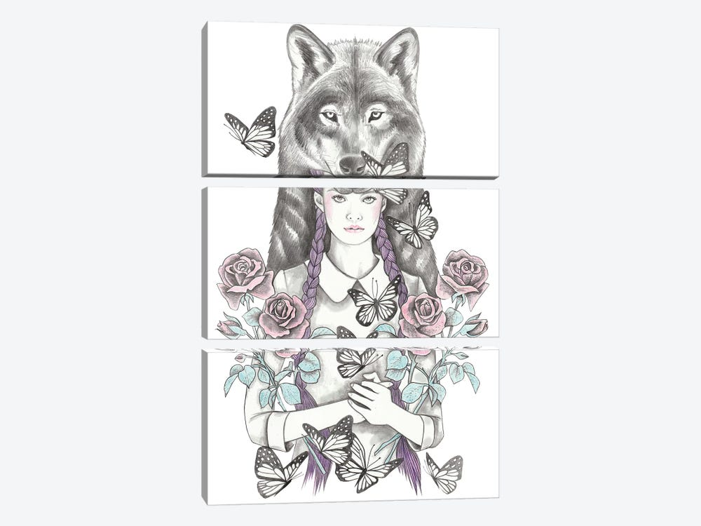 Magic Hour by Andrea Hrnjak 3-piece Canvas Print
