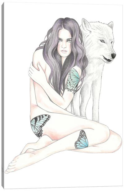 She Wolf II Canvas Art Print
