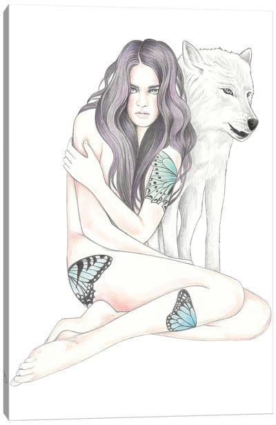 She Wolf II Canvas Art Print
