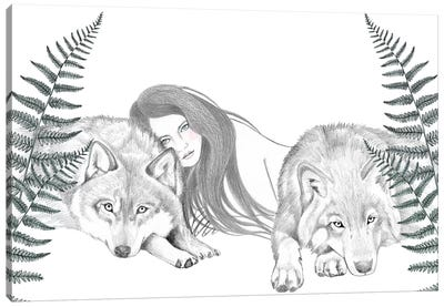 Wolf Pack II Canvas Art Print